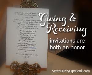 givng invite